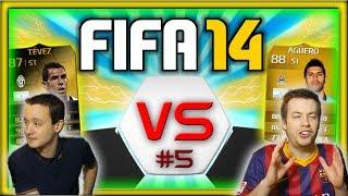 FIFA 14: IF TEVEZ & AGUERO CHAT.... - GOAL ELIMINATION #5