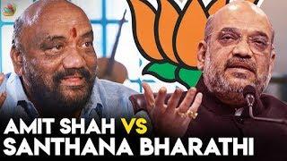 The Amit Shah of South India ? : Santhana Bharathi Interview   LKG Movie, RJ Balaji