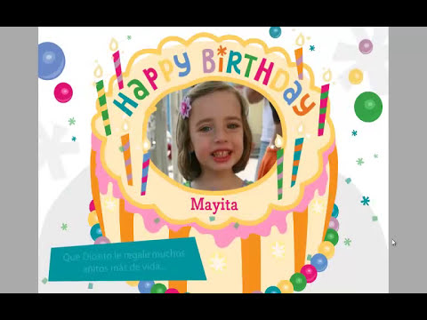 Happy Birthday Princess Maya