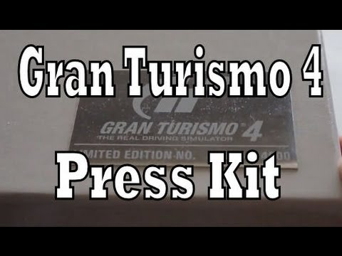 Gran Turismo 4 Press Kit Unboxing & Review (Playstation 2 / PS2)