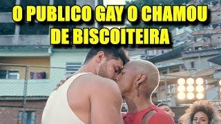Nego do Borel recebe enxurrada de criticas dos gays após beijo gay em clipe, ''Me Solta''