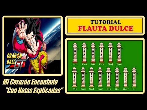 Dragon Ball GT en Flauta