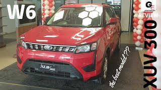 Mahindra XUV 300 W6🔥 | detailed review | features | specs | price !!!