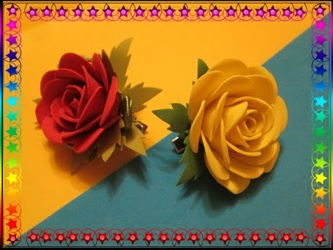 Цветы  мастер класс для начинающих видео