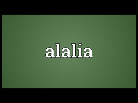 Header of alalia