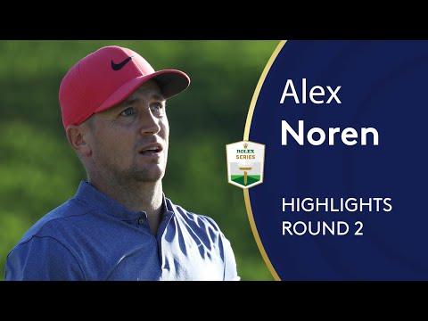 Alex Noren Highlights | Round 2 | 2019 Turkish Airlines Open