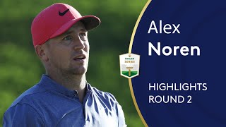 Alex Noren Highlights | Round 2 | 2019 Turkish Airlines Open