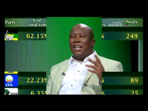 Question Time: Julius Malema, 25 August 2014