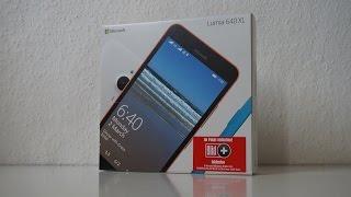 Microsoft Lumia 640 XL Unboxing (HD) (Deutsch)