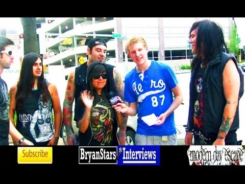 Modern Day Escape Interview #3 MUST SEE 2012