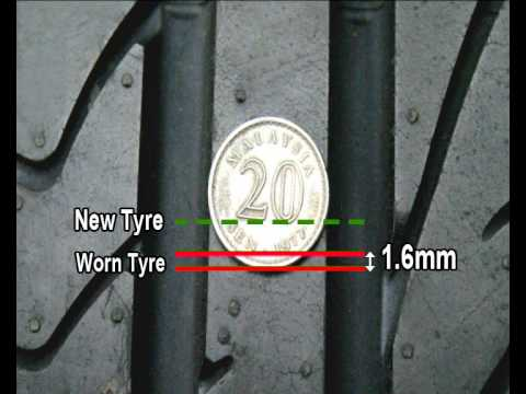 how to tell tire wear