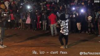 Mr. Leo performing c'est faux at Bafoussam (Music Camerounaise)