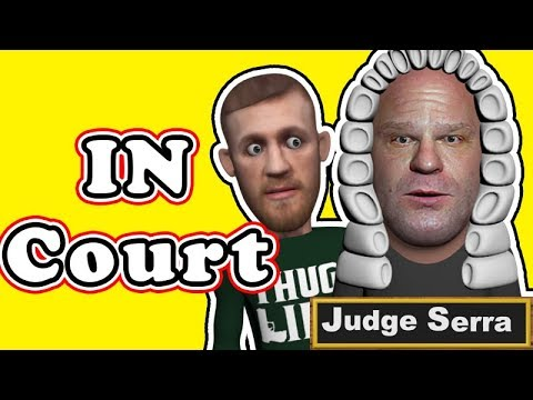 Conor McGregor in Court