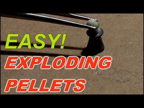 Making and Shooting Explosive Pellets
