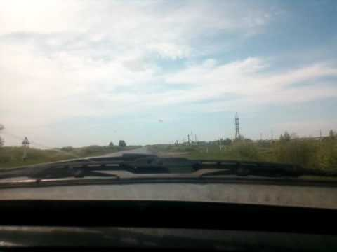 Омская область. Дорога в Любино. Посёлке Северо-Любино!
