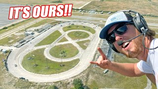 So... We Bought an Abandoned Racetrack!!! (our new home)
