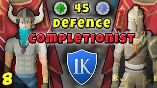 THE *EASIEST* WAY TO GET A TIER 10 EMBLEM - 45 Defence Completionist (#08) - Ikov RSPS