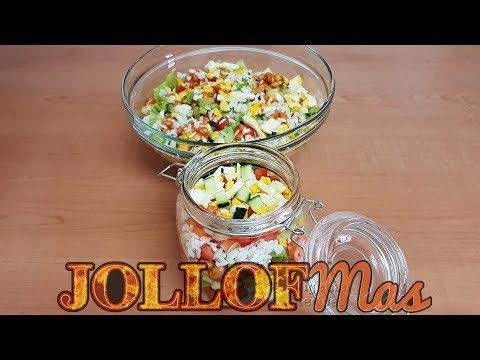 Nigerian Rice Salad JOLLOFMas Day 4 | All Nigerian Recipes