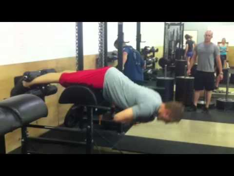 Extensions Weight Weighted Hip Extensions