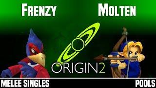 Origin 2 - 8BP | Frenzy (Falco) vs Molten (Young Link) - MELEE SINGLES - POOLS