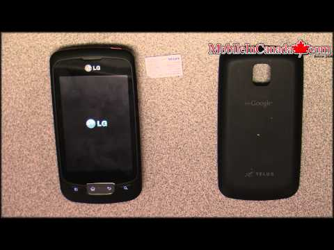 telus lg optimus one unlock