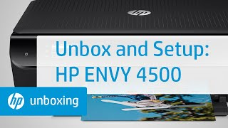 01. Unboxing and Setting Up the HP Envy 4500 e-All-in-One Printer