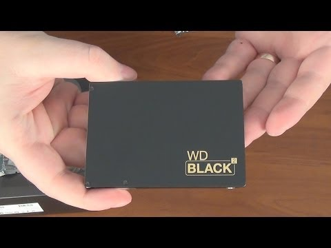 WD Black² Dual Drive — Распаковка и обзор 2,5-дюймового двойного накопителя (SSD + HDD)