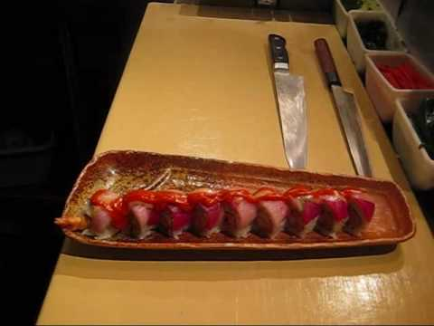 GUGU SUSHI & ROLL - Making of Torch Roll
