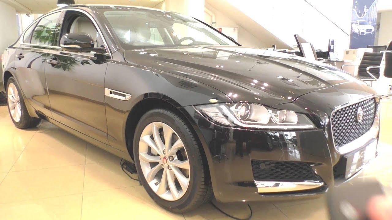 2017 Jaguar XF. Обзор (интерьер, экстерьер, двигатель).