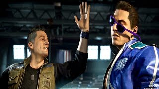 MORTAL KOMBAT 11 - Johnny Cage Slaps Johnny Cage From Past (MK11 2019) PS4 Pro