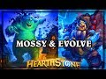 Mossy Horror & Thrall Deathseer ~ The Witchwood Hearthstone Heroes of Warcraft