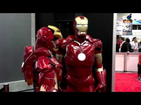 San Diego Comic-Con 2012 - Awesome Iron Man Cosplay
