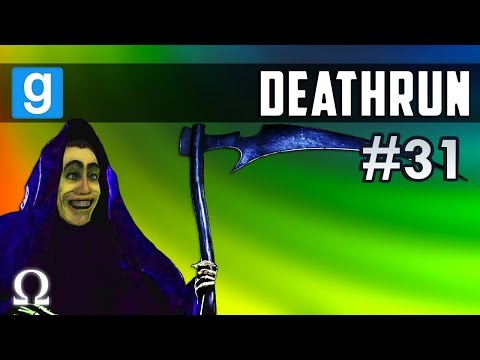 INTO THE RABBIT HOLE WE GO! | Death Run #31 Garry's Mod Funny Moments