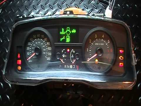 Grand Marquis Crown Victoria Instrument Gauge Cluster Repairs For 2006 And Later Youtube