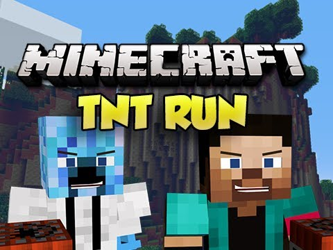 MINECRAFT TNT RUN! w/ Gizzy14Gazza, NoahCraftFTW & Palmeater