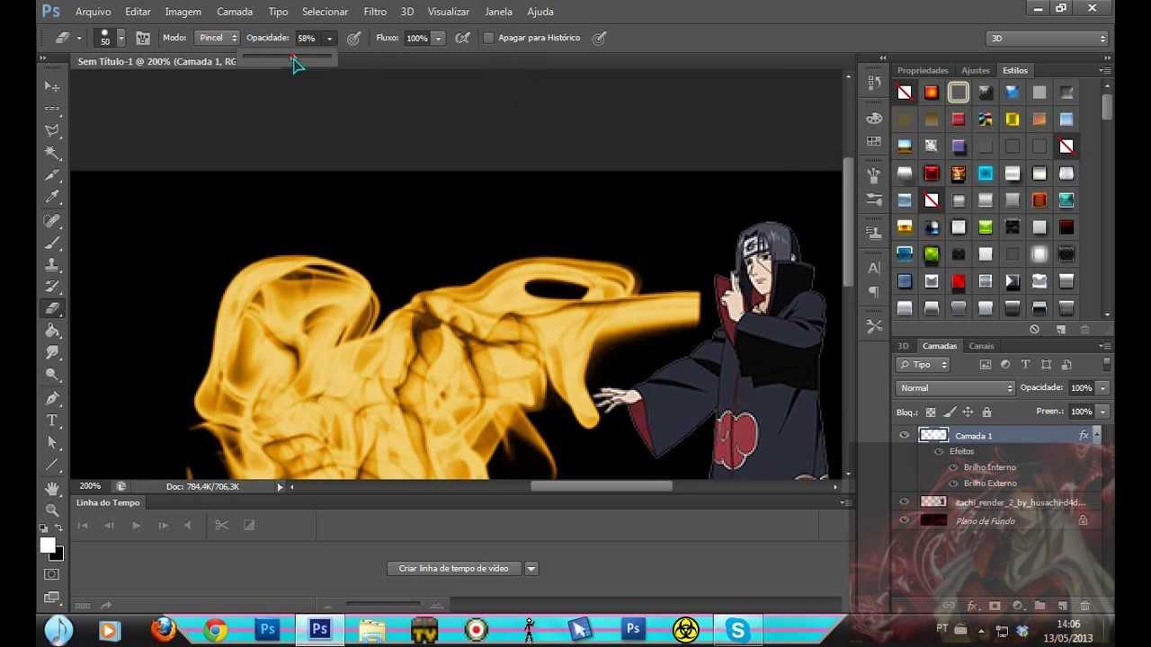 Como fazer fogo no photoshop cs6 gosh cosmetics online shop