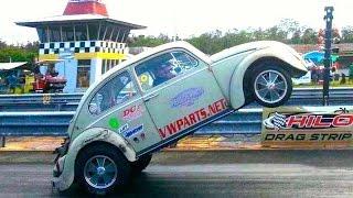 #95 Hawaii Motorhead Magazine Hilo VW Bug-In 2013 Wheel Stands