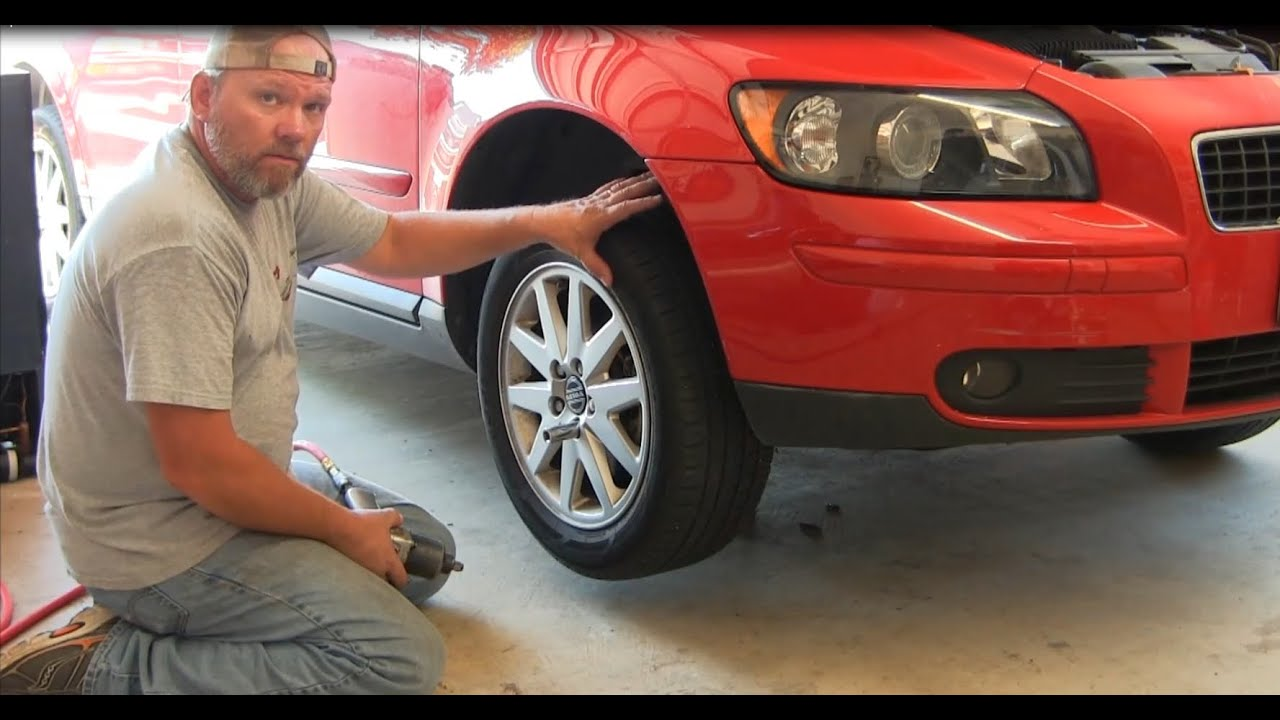 How To Replace an Alternator on a 2006 Volvo S40 T5 Part 1 Removal - YouTube
