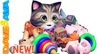 🐱 Ten in the Bed | Nursery Rhymes and Baby Songs from Dave and Ava 🐱