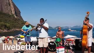 Calypso muziek, Caribische muziek, vrolijke muziek, instrumentale muziek, muziek voor ontspanning