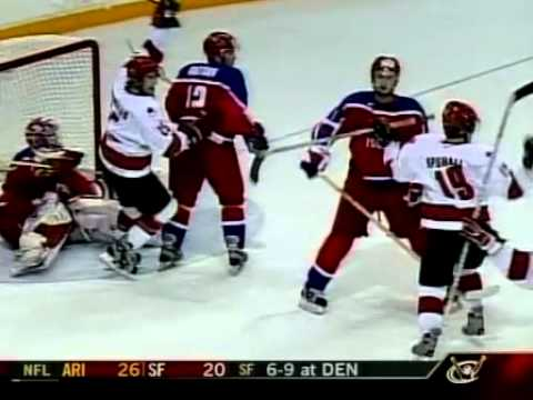 2003 Final World Jr. Canada vs. Russia @ Halifax highlights