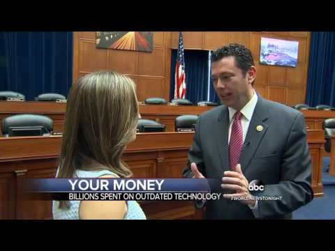 ABCNews on Outdated Tech in Federal Agencies, 5/25/16