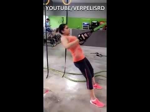 Anier Barros en el gym
