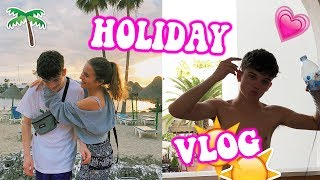 Going on holiday with my Boyfriend! Part 1 of Tenerife Travel vlogs! Lovevie