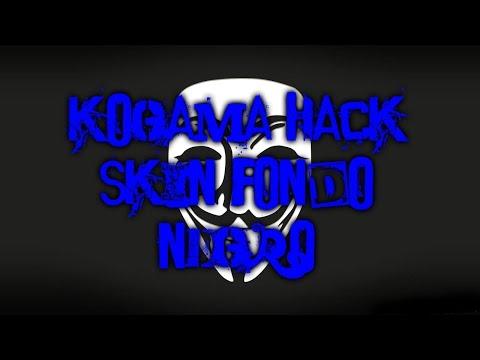 KoGaMa Hack Skin Fondo Negro