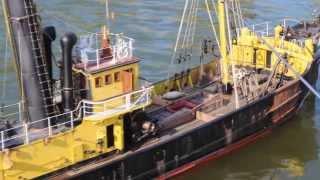 Portuguese Steam Fishing Boat 1/19 Large Scale RC Replica