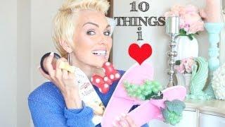 10 Things I'm Loving: Happy August