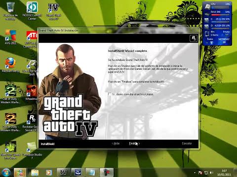 Como instalar GTA IV En Windows 7