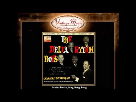 The Delta Rythm Boys - Presto Presto, Bing, Bang, Bong (vintagemusic.es) video