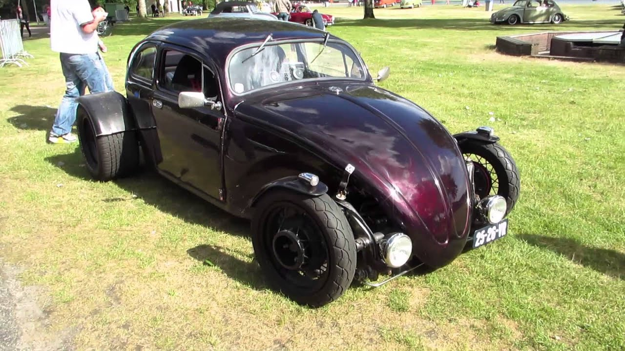 Vw Beetle Hotrod Pt3 Ikw Wanroij 2013 Youtube